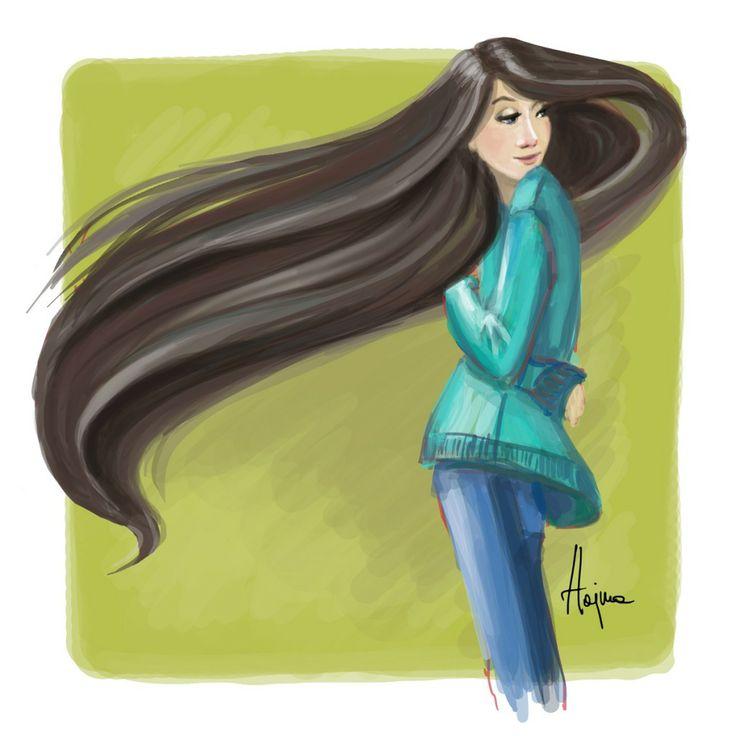 Long hair by Hajna http://mcshajna.com/long-hair/