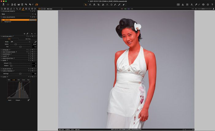 Before Capture One 9, no raw editor software on the market could create a mask based on color. With their recent update, Phase One created something unique with the improved color editor panel. It is now possible to select precisely one color – or a range of – and then create a mask to adjust only the parts needed.