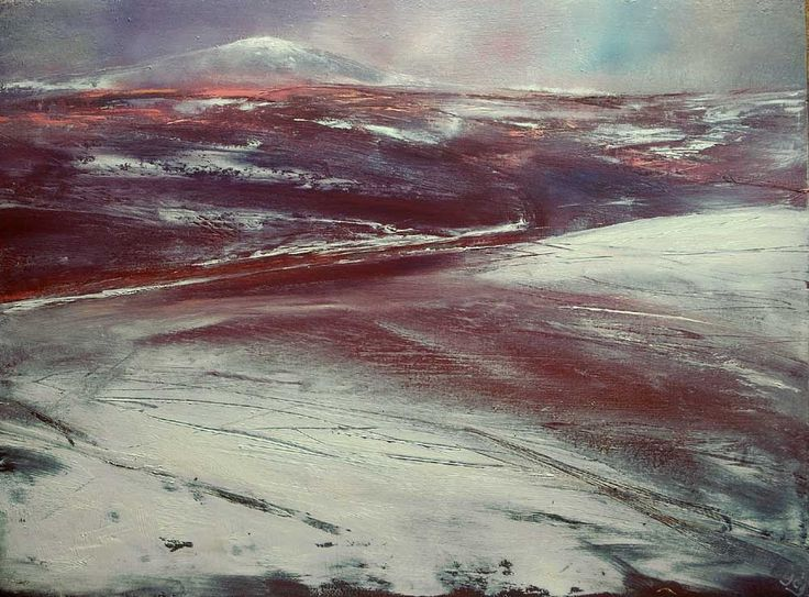 Winter On Mount Kippure by John O'Grady on ArtClick.ie Landscape Art