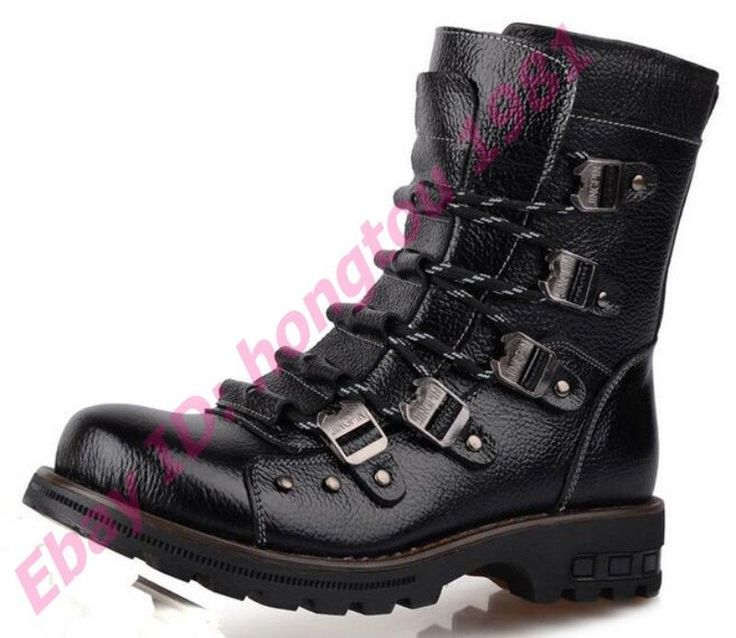Mens Desert Fashion Trainer Combat Shoes Military Hiking High Top Ankle Boots