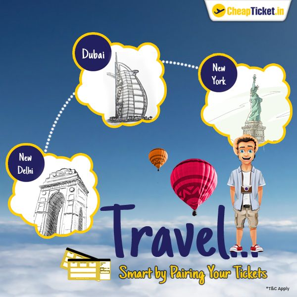 Buy Air Ticket online or buy flight ticket online with us: CheapTicket.in