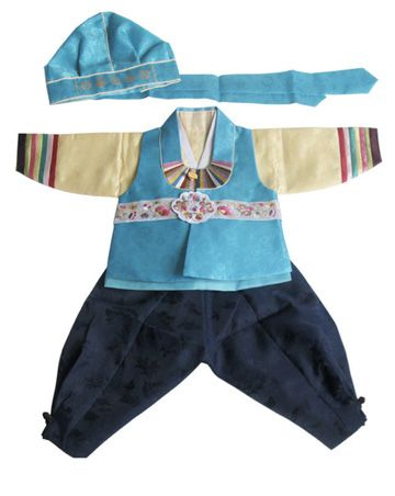 1st birthday hanbok. Little man would look so cute in it, but is it worth the $$