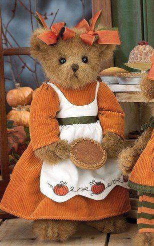 "Piper Piebaker - 14"" Teddy Bear By Bearington Bears by The Bearington Collection - OMG too cute!"