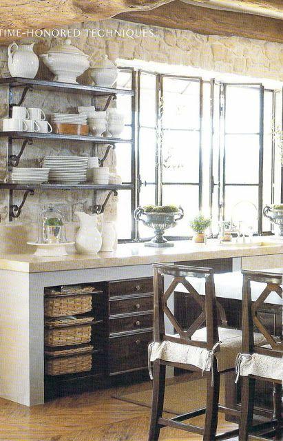 Querido Refúgio - Blog de decoração: + Cozinhas em alvenaria e cimento queimado!