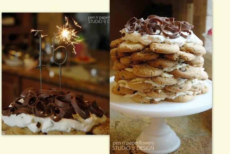Bolo de cookies!!!!