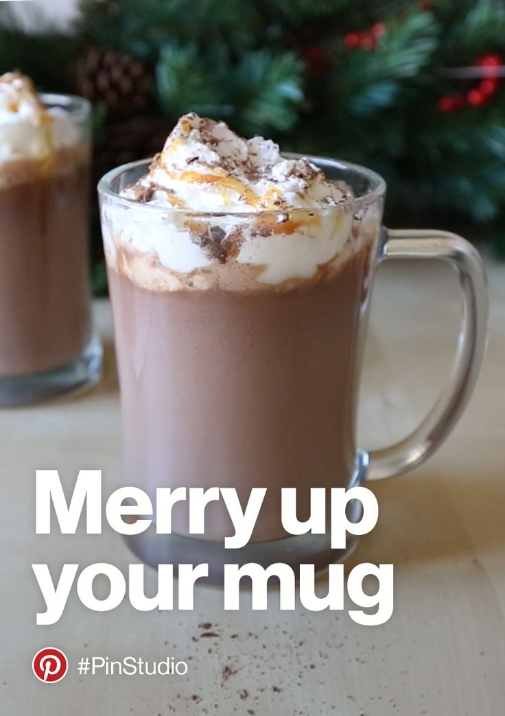 Merry up your mug with the Pin Studio team. Discover more holiday ideas in our gift guide. https://www.pinterest.com/pinpicks/