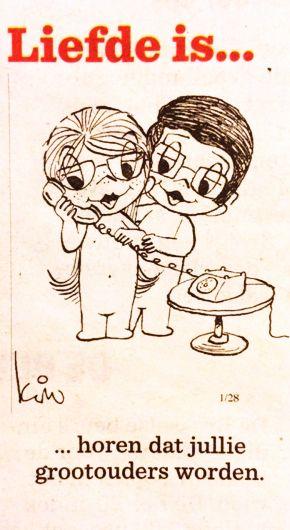 Liefde is… Horen dat jullie grootouders worden Het ultieme genieten? http://babyboomersdiegenieten.blogspot.nl