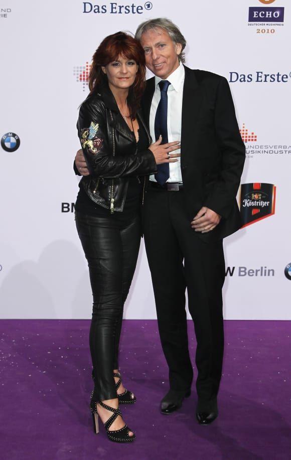 Andrea Berg En Haar Echtgenoot Uli Op De Echo Awards 2010