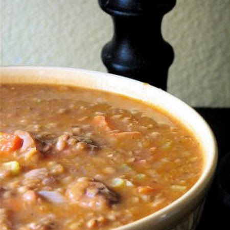 Italian Sausage and Lentil Soup we love this soup