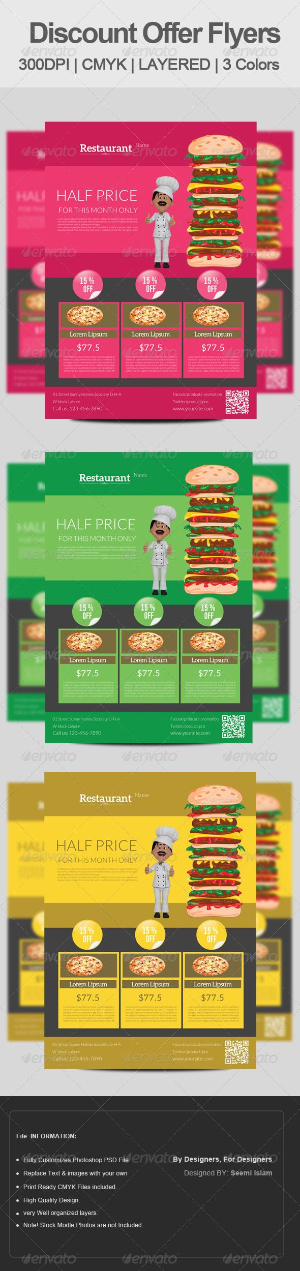 best images about restraurant earth day flyer food discount flyer template