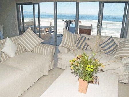 Self Catering Accommodation, Muizenberg, Cape Town  Comfy lounge couches with the perfect beach views