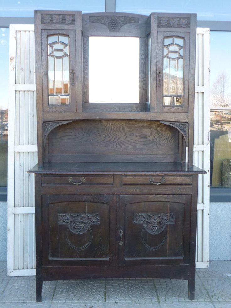 Oltre 25 fantastiche idee su credenza stile liberty su - Art nouveau mobili ...