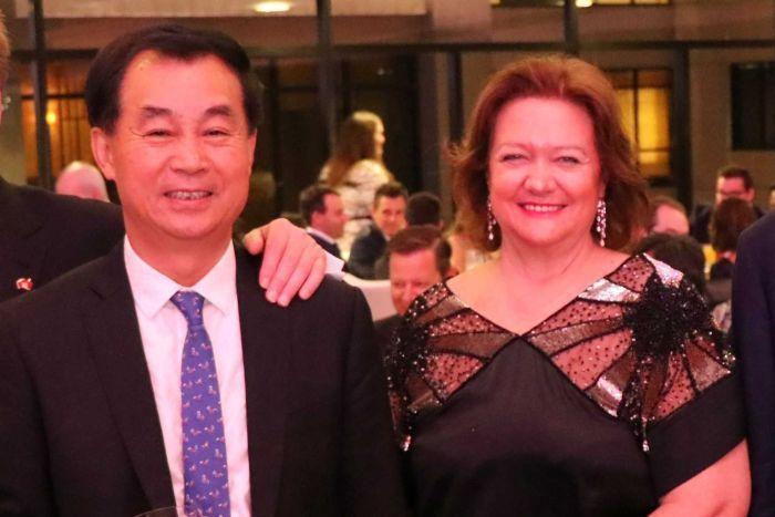 Gina Rinehart and Gui Guojie. Gina Rinehart ushers in a new Kidman cattle era with big plans for Australia's most famed pastoral estate
