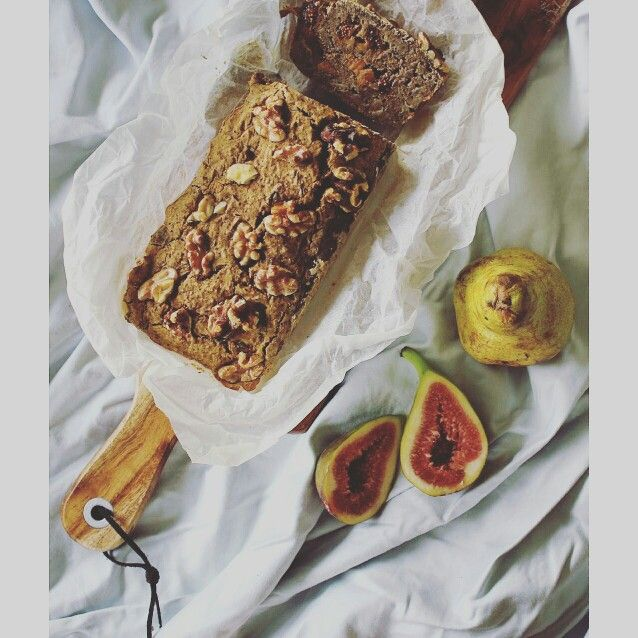 ~P E A R &  W A L N U T • L O A F~ @victoriayordonopulo you're amazing!! She's whipped up this amazing loaf. Its's gluten free , dairy free, sugar free and vegan friendly. Made with @lydiateff Ivory Teff flour. Teff is full of protein. We'll have this on our website soon.  #teff #Lydiateff #teffflour #walnut #chia #cinnamon #pear #feedfeed #loaf #fig #healthy #breakfast #protein #veganfoodshare #vegan #ancientgrain #vegetariansydney