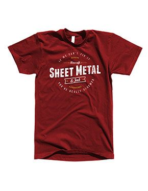 If we cant fix it your really screwed, Sheet Metal and Fab  Aircraft Mechanic Shirts exclusive to Aircraft Tool Supply