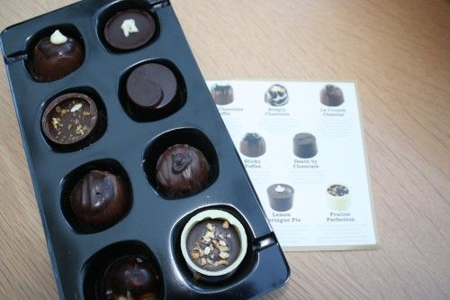 Chocolate review, Lily O'Brien's chocolates