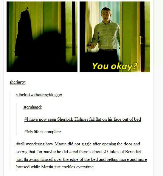 The bloopers would be hilarious.