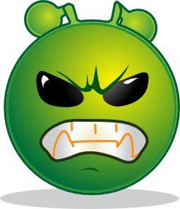 10 Green Smileys/Emoticons - Smiley Symbol