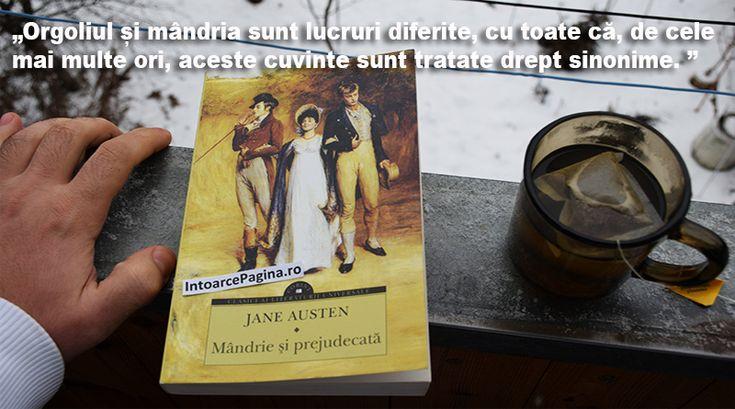Recenzie: Mândrie și prejudecată – Jane Austen   IntoarcePagina.ro