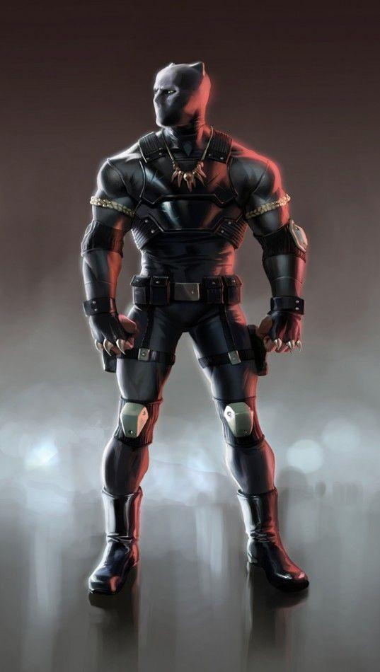 Black Panther byMarko Djurdjevic [Black Panther: Man with out Fear ]
