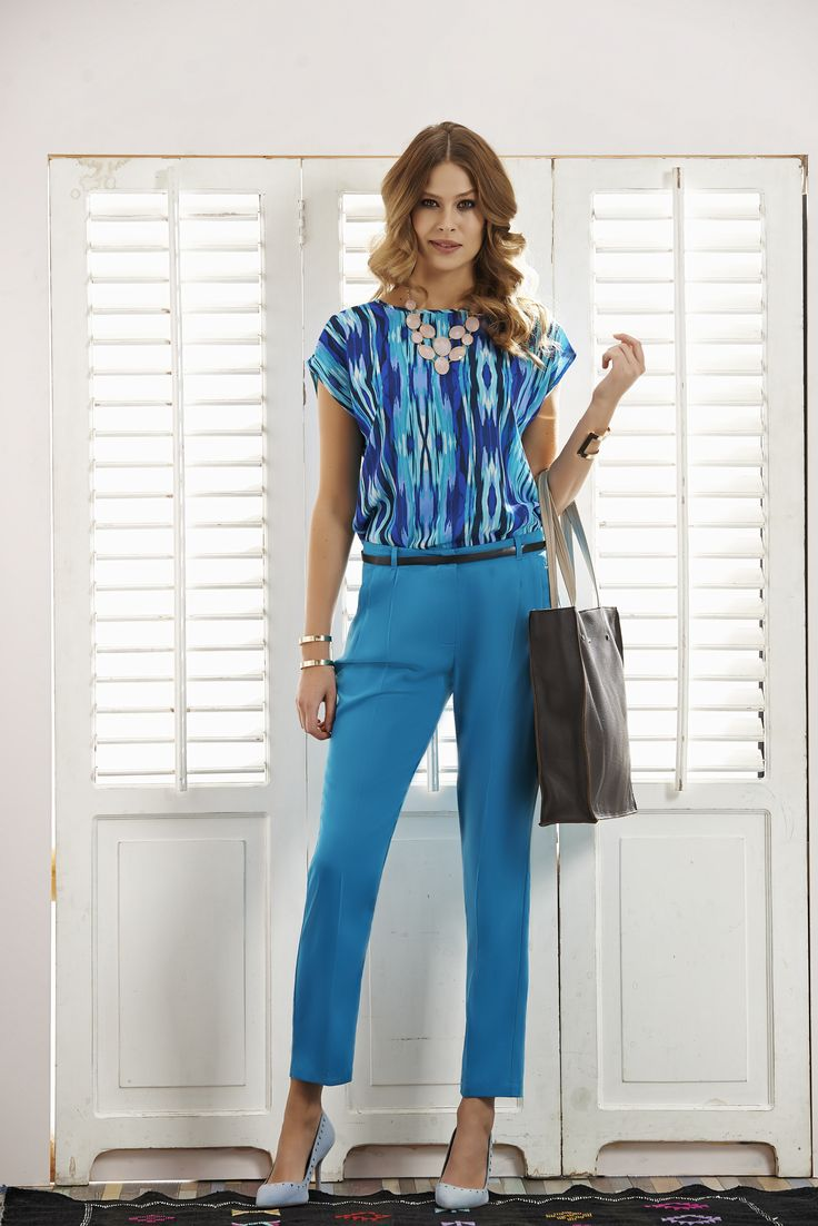 #quiosquepl #quiosque #lookbook #fashion #inspirations #outfit #look #spring #summer #color #ss15 #trousers #bag