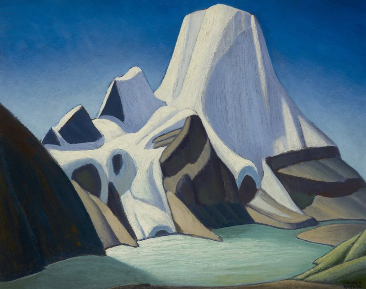 Mount Robson from the Northeast by Lawren S. Harris