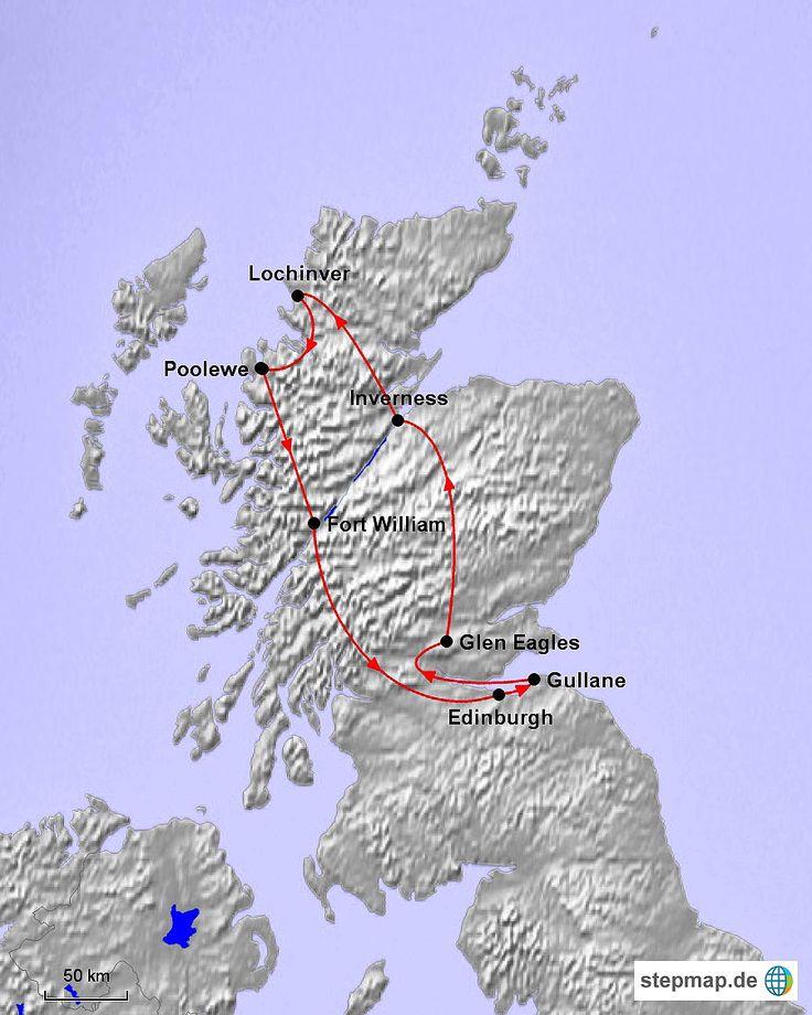 Schottland Rundreise Selbstfahrer