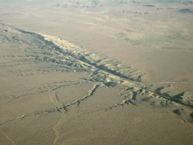 San Andreas Fault, from Bombay Beach to Daly City, California