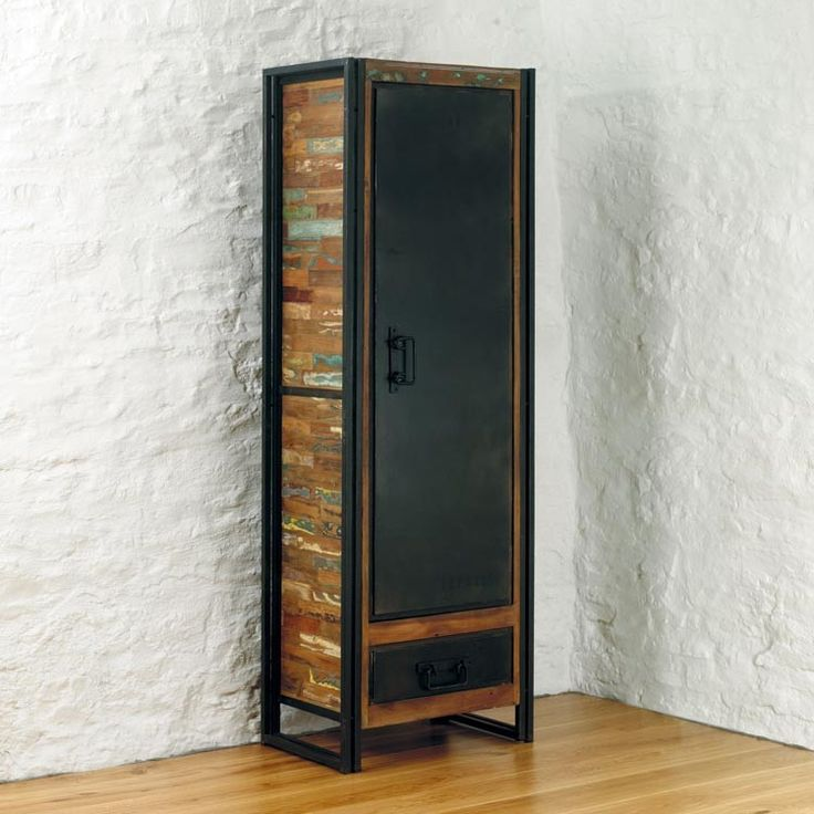 Shoreditch Collection Alcove Storage Cabinet.  Reclaimed wood and industrial design from The Orchard.