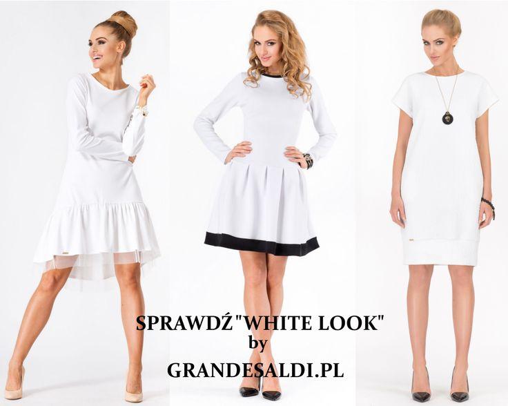 White look, lubimy i nosimy. Biel w eleganckiej i swobodnej wersji w interpretacji GrandeSadi.pl.