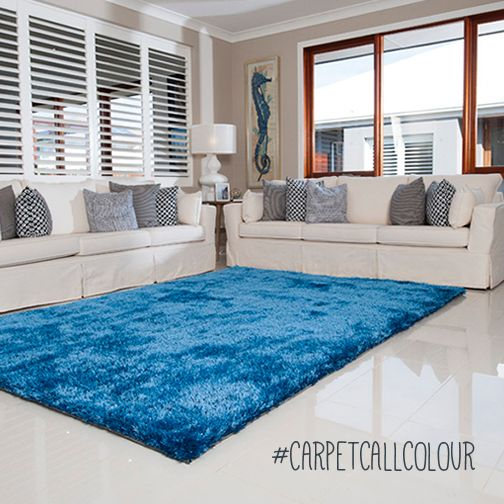 Create a safe haven in your home and welcome a blue rug into an area where you want to relax and unwind.     http://www.carpetcall.com.au/rugs-online/our-products