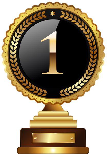 1st Place Trophy Transparent PNG Clip Art Image