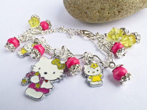 Hello Kitty Bracelet 0064ba Hello Kitty Hello by SandyCraftUK