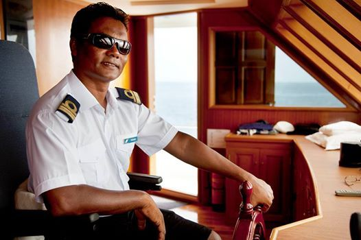 CAPTAIN FESSEY: Thank you all for joining us in the Maldives in the past season, we are looking forward to seeing you soon on our yachts M/Y Duke of York and M/Y Conte Max!  And a special thank to...  Our two Captains: Fessey and Fetey;  Our Dive Masters: Rasheed, Ali and Hugo;  Our Boat Leaders and Instructors: Marta, Sean, Giuditta, Stefano, Herbert, Alessandro and Marc and...  Our wonderful Crew on M/Y Duke of York and M/Y Conte Max. We wish you all relaxing holidays!