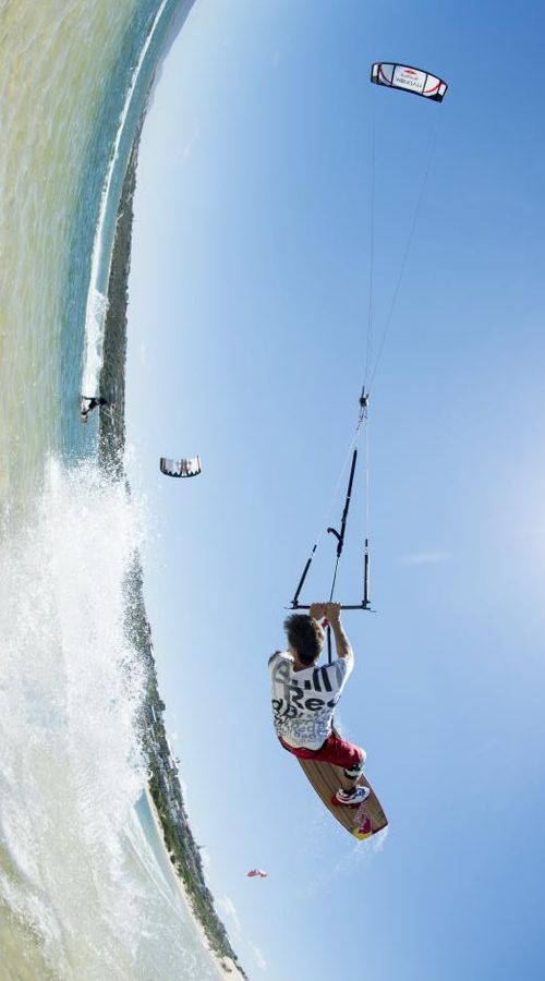 How did you start your Monday? #redbull #kiteboarding