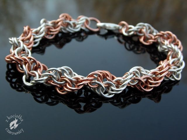 Z kociołka czarownicy: DNA - Inverted Spiral bracelet