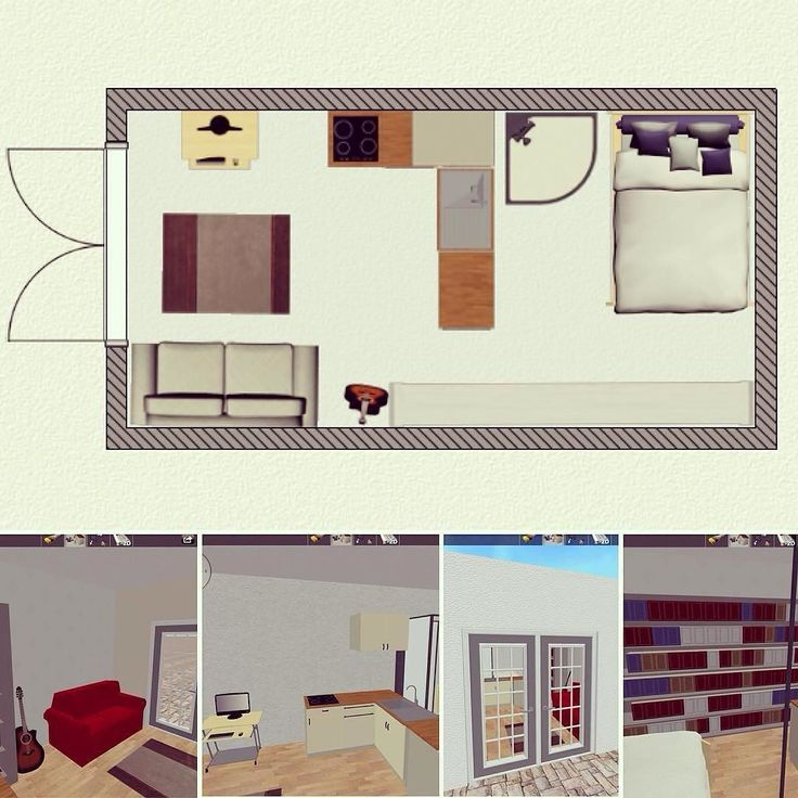 This #tinyhouse has central plumbing and an open floor plan. I might be able to add a loft/storage. The bed will eventually be a Murphy bed.  The French doors open to the garden. I'm hoping to have a shower/asian bidet combo. Do we need to invent this or has it been done? It will be about 188 sq feet. by bikopath