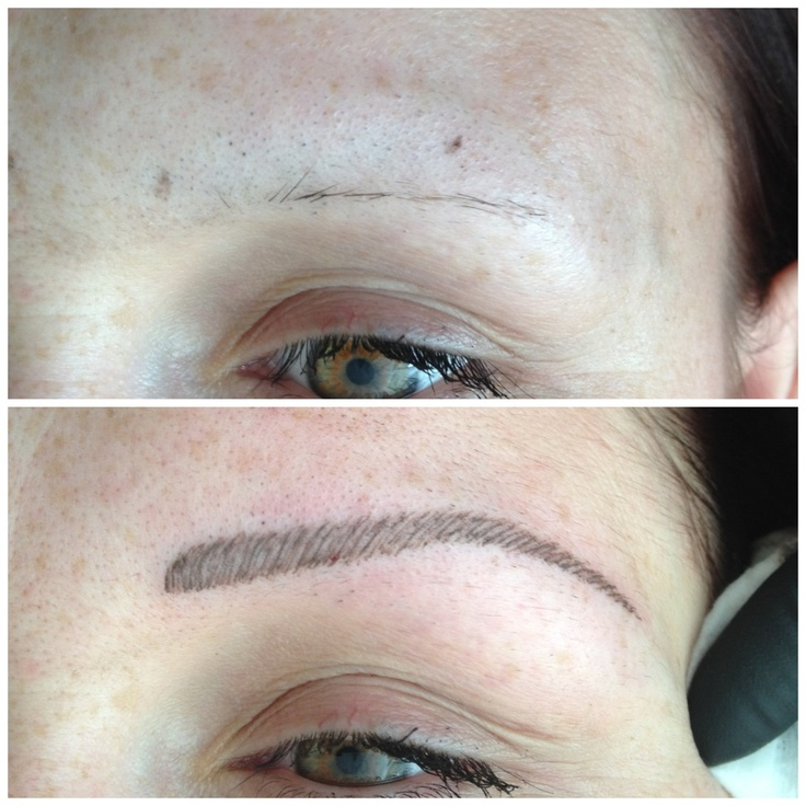 44 best 3d eyebrow embroidery images on pinterest for Semi permanent tattoo eyebrows