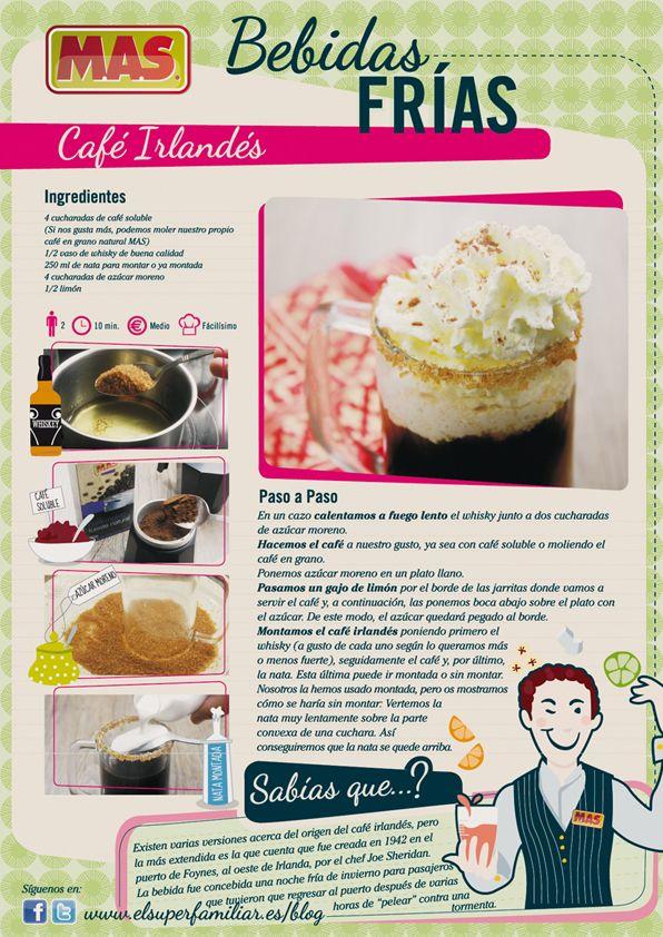 #Receta #Cafe Irlandes #