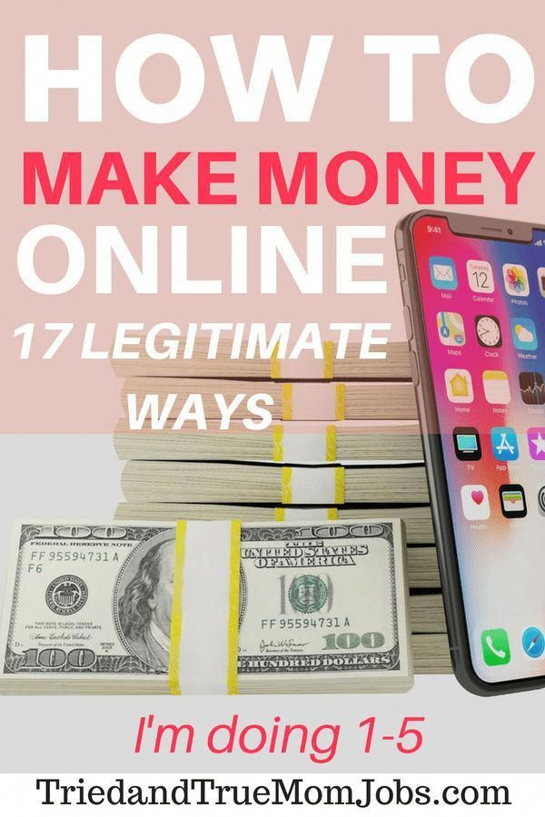 17 Legitimate Ways to Make Money Online with little to NO