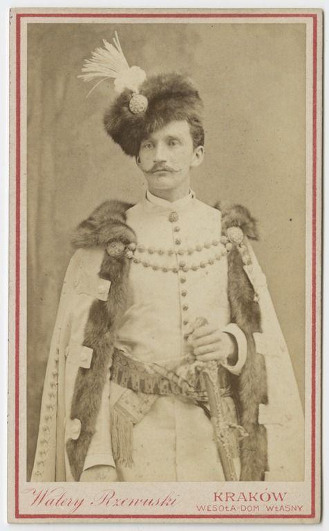 Walery Rzewuski, Portret Władysława Sapiehy w stroju narodowym (1884)
