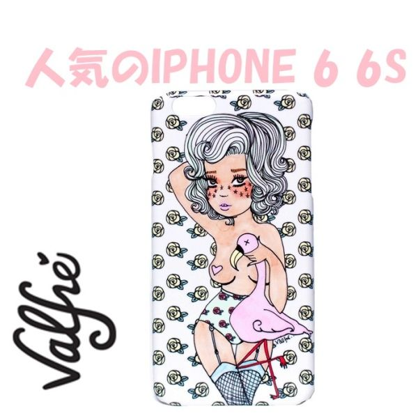 valfre ( ヴァルフェー ) ロサンゼルス の ピンク フラミンゴ iphoneケース PINK FLAMINGO PHONE 6 6s CASE キュート ガール アイフォン シックス ケース iphone6 iphone6s 海外 ブランド