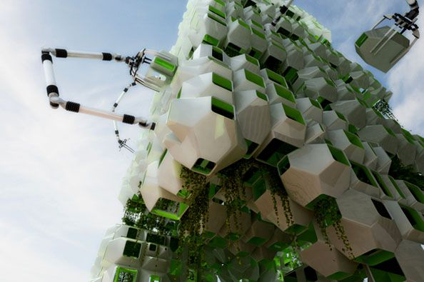 Eco pods Proect Howeler Yoon Architecture Squared Design Lab2 About Architecture at its Best: 10 Futuristic Design Concepts