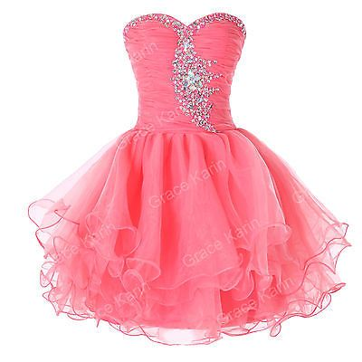 CHEAP Sexy Girls Short Homecoming Masquerade Gowns Evening Prom Party Tutu Dress