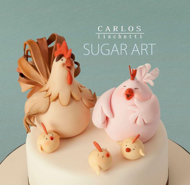 http://carloslischetti.blogspot.com.es/?m=0 porcelana fria polymer clay pasta francesa masa flexible fimo figurine modelado modelling cake topper