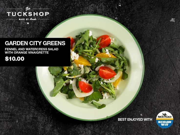 Garden City Greens  Fennel & Watercress Salad with Orange Vinaigrette