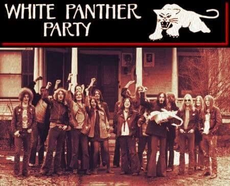 """The White Panthers were a far-left, anti-racist, white American political collective founded in 1968. It was started in response to an interview where Huey P. Newton, co-founder of the Black Panther Party, was asked what white people could do to support the Black Panthers. Newton replied that they could form a White Panther Party. The counter-culture era group took the name and dedicated its energies to """"cultural revolution. (from: Why are you mad, son? radio)"""