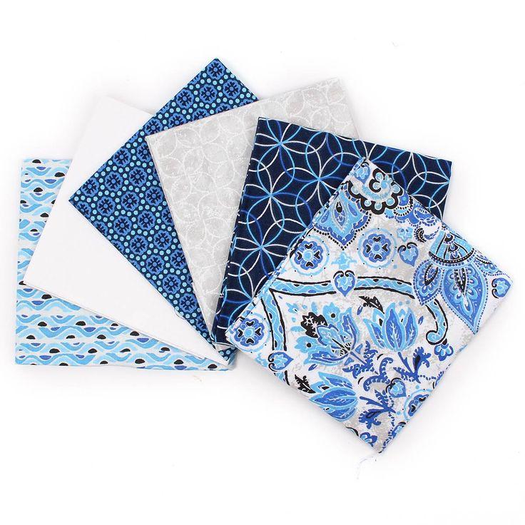 Fabric Fat Quarters Freywynne 6 Pack