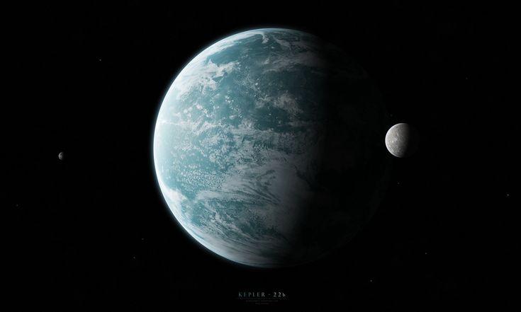 Kepler-22b by Alpha-Element.deviantart.com on @DeviantArt
