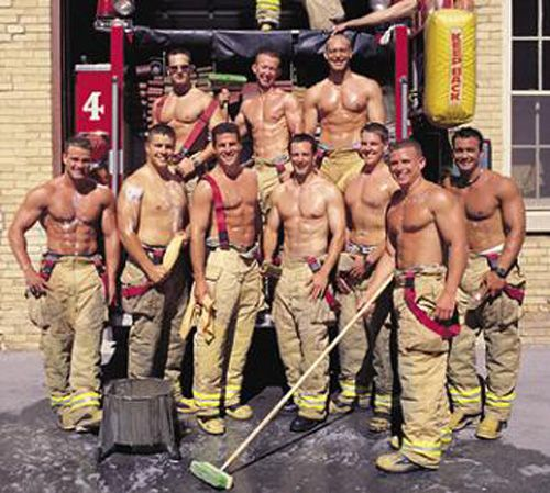 There's something about firemen....